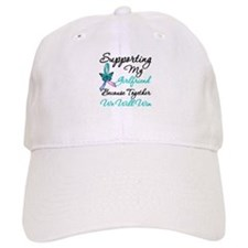 Thyroid Cancer Girlfriend Baseball Cap