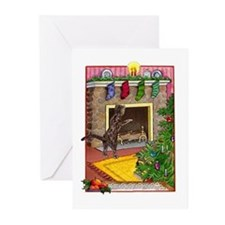 Bengal Chimney Christmas Cards (Blank inside)