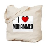 I LOVE MOHAMMED Tote Bag