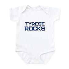 tyrese rocks Infant Bodysuit