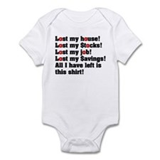 Funny Foreclosures Infant Bodysuit