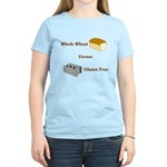 Wheat vs. Gluten Free Women's Light T-Shirt