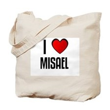 I LOVE MISAEL Tote Bag