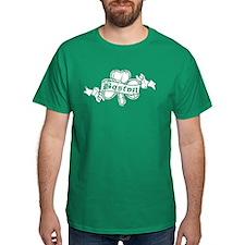 Retro Boston Shamrock T-Shirt
