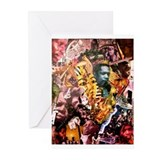 Amir M. Lyles AfricaBrass Greeting Cards (20 pk)