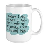 Nursing School Hell Ceramic Mugs