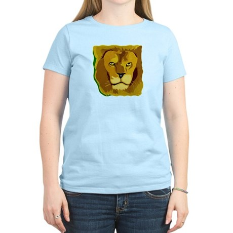 Yellow Eyes Lion Women's Light T-Shirt