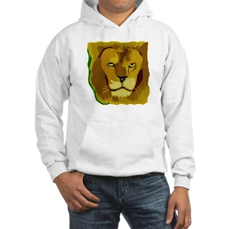Yellow Eyes Lion Hooded Sweatshirt