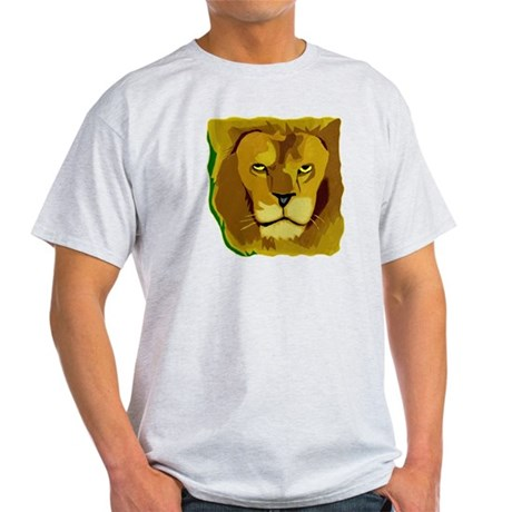Yellow Eyes Lion Light T-Shirt