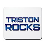triston rocks Mousepad