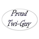 Twi-Guy Oval Decal