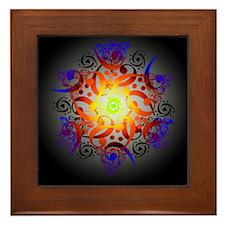 Hexa Mandala Framed Tile