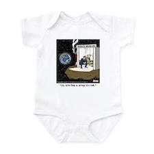 Designated Smoking Area Infant Bodysuit