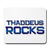 thaddeus rocks Mousepad