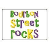 Bourbon Street Rocks Banner