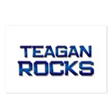 teagan rocks Postcards (Package of 8)