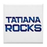 tatiana rocks Tile Coaster