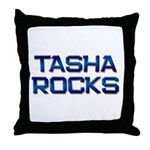 tasha rocks Throw Pillow