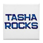 tasha rocks Tile Coaster