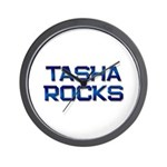 tasha rocks Wall Clock