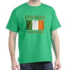 Obama Vote Irish T-Shirt