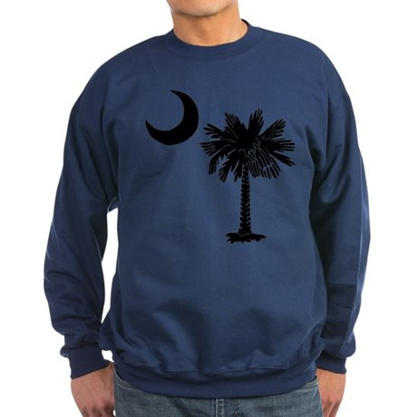 Black Palmetto Sweatshirt (dark)