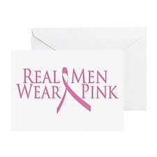 Real Men Wear Pink (2009) Greeting Card