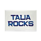 talia rocks Rectangle Magnet (10 pack)