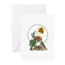 Unique Mevlana Greeting Cards (Pk of 10)