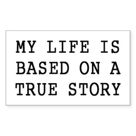 My Life Sticker (Rectangle)