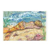 Cute Beach and ocean Postcards (Package of 8)