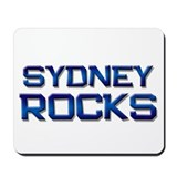 sydney rocks Mousepad