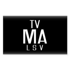 TV-MA Rectangle Decal