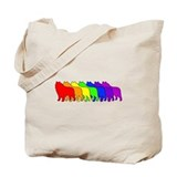 Rainbow Schipperke Tote Bag