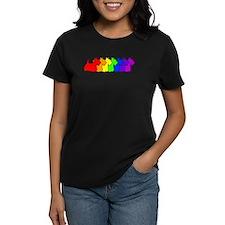 Rainbow Scottie Tee