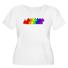 Rainbow Scottie T-Shirt