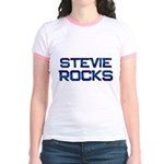stevie rocks Jr. Ringer T-Shirt