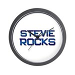 stevie rocks Wall Clock