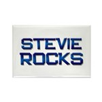 stevie rocks Rectangle Magnet (10 pack)