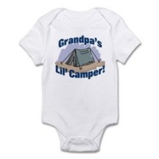 GRANDPA'S LIL' CAMPER! Infant Bodysuit