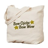 Bow Chicka Bow Wow Tote Bag