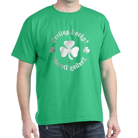 Kelly Green Lucky Drunk T-Shirt