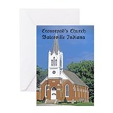 Crossroad's Lutheran Church Greeting Card
