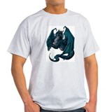 blue dragon Ash Grey T-Shirt