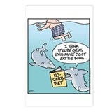 Shark No-Carb Diet Postcards (Package of 8)