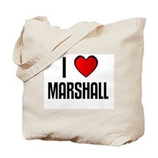 I LOVE MARSHALL Tote Bag
