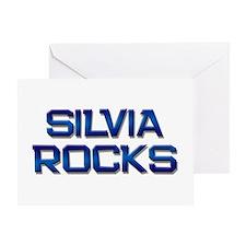 silvia rocks Greeting Card