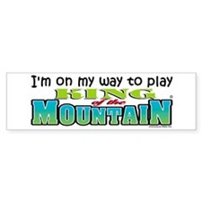King of the Mountain Bumper Bumper Sticker
