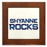 shyanne rocks Framed Tile