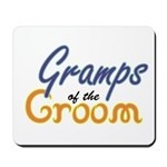 Gramps of the Groom Mousepad